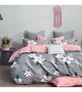 Kahepoolne voodipesukomplekt 160x200 2-osaline , 100% puuvillasatiin