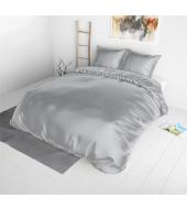 Beauty Skin Silver, voodipesu siidisest mikrofiibrist 200x220 cm 3-osaline