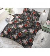 """Marion Anthracite"",  200x220 cm,  puuvillasegust, 3 osaline voodipesukomplekt"