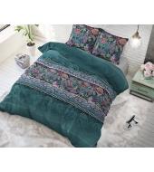 """""""Paisley Green"""",  200x220 puuvillasegust 3 osaline voodipesukomplekt"""