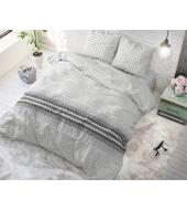 Romar Grey voodipesukomplekt, puuvillane, 140x220 2 osaline