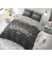 """Goodnight Kiss""  puuvillane voodipesukomplekt, 200x220 cm, 3 osaline"