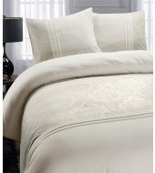 Brussel Cotton Creme voodipesu puuvillane 200x220 3-osaline