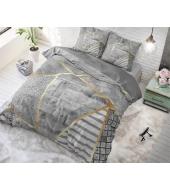 Graphic Grey  voodipesukomplekt puuvillane 220x240 3 osaline
