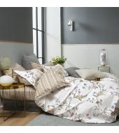 Kahepoolne voodipesukomplekt 200x220 3-osaline, 100% puuvillasatiin