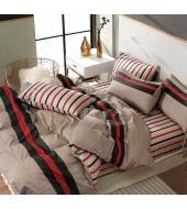 Kahepoolne voodipesukomplekt 200x220 3-osaline , 100% puuvillasatiin