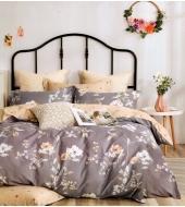 Kahepoolne voodipesukomplekt 160x200, 3-osaline , 100% puuvillasatiin