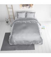 Beauty Skin Silver , voodipesu siidisest mikrofiibrist 220x240 cm 3-osaline