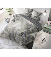 """Luxury Triangle Grey"" voodipesukomplekt, puuvillane, 200x220 3 osaline"