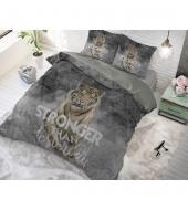 """Stronger Grey""  puuvillane voodipesukomplekt, 140x220 cm, 2 osaline"