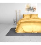 Beauty Skin Gold, voodipesu siidisest mikrofiibrist 240x220 cm 3-osaline