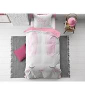 """Cute Bunny""  puuvillane voodipesukomplekt, 140x220 cm, 2 osaline"