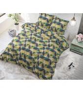 """""""Davis Beige"""",  240x220 cm,  puuvillasegust, 3 osaline voodipesukomplekt"""