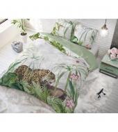 """Exotic Tiger""  puuvillane voodipesukomplekt, 140x220 cm, 2 osaline"