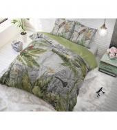 """Jungle by Night""  puuvillane voodipesukomplekt, 140x220 cm, 2 osaline"
