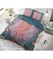 """Led Love""  puuvillane voodipesukomplekt, 200x220 cm, 3 osaline"