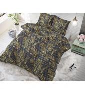 """Luxury Leaf"",  200x220 cm,  puuvillasegust, 3 osaline voodipesukomplekt"