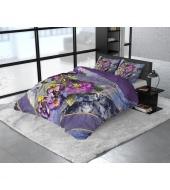 """Luksuslik """"Satin Wild Kannieta Purple""""  200x220 3-osaline, satään"""