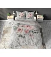 """Elisa Cream"",  240x220 cm,  puuvillasegust, 3-osaline voodipesukomplekt"