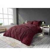 """""""Jaxx Bordeaux"""",  240x220 cm,  puuvillasegust, 3-osaline voodipesukomplekt"""