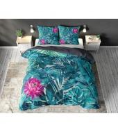 """""""Kaysie Blue"""",  200x220 cm,  puuvillasegust, 3-osaline voodipesukomplekt"""