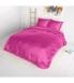 """Beauty Skin Hot Pink"", voodipesu siidisest mikrofiibrist 200x220 cm 3-osaline"